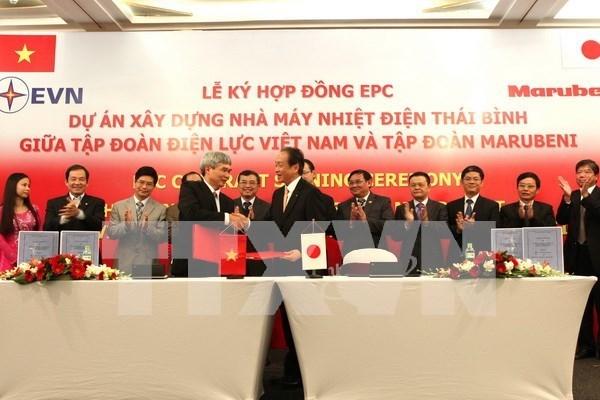 Empresas japonesas planean expandir operacion en Vietnam hinh anh 1