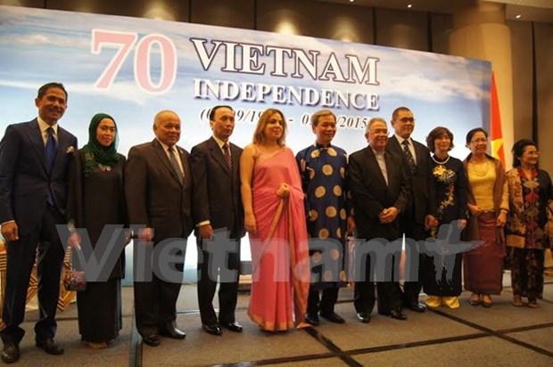 Celebran diplomaticos en exterior eventos por efemerides vietnamitas hinh anh 1