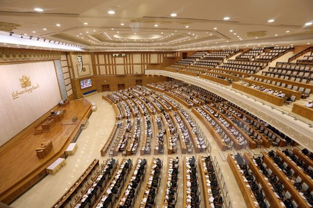 Myanmar aprueba por primera vez salario minimo nacional hinh anh 1