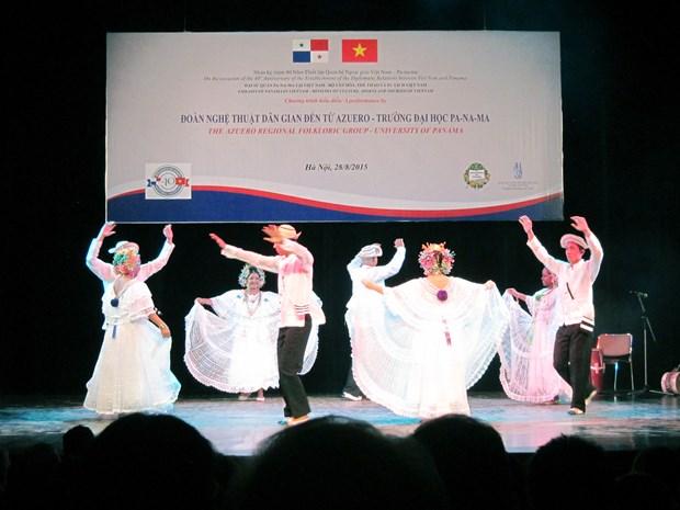 Velada de danza saluda relaciones diplomaticas Vietnam- Panama hinh anh 1