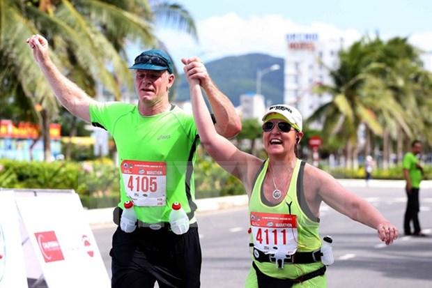 Maraton internacional de Da Nang atrae numerosos atletas hinh anh 1