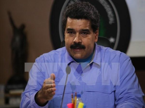 Presidente venezolano Nicolas Maduro inicia visita a Vietnam hinh anh 1