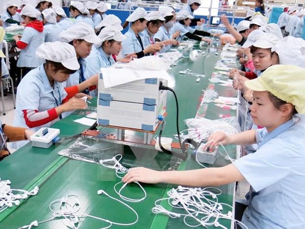 Aumentan exportaciones vietnamitas en primeros ocho meses hinh anh 1