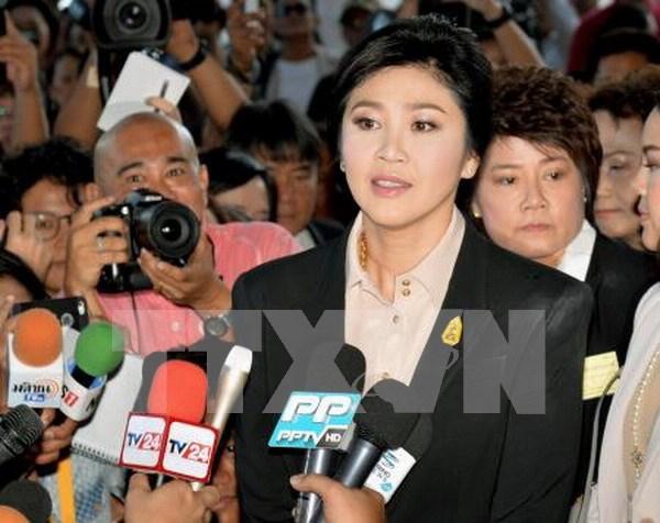 Ex primera ministra tailandesa se presenta ante Tribunal Supremo hinh anh 1