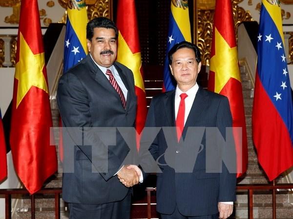 Vietnam y Venezuela fomentan nexos de cooperacion hinh anh 1