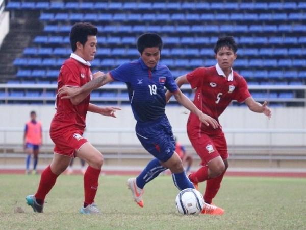 Enfrentara Vietnam a Laos en semifinales de futbol regional hinh anh 1