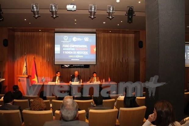 Vietnam y Argentina robustecen intercambio de comercio hinh anh 1
