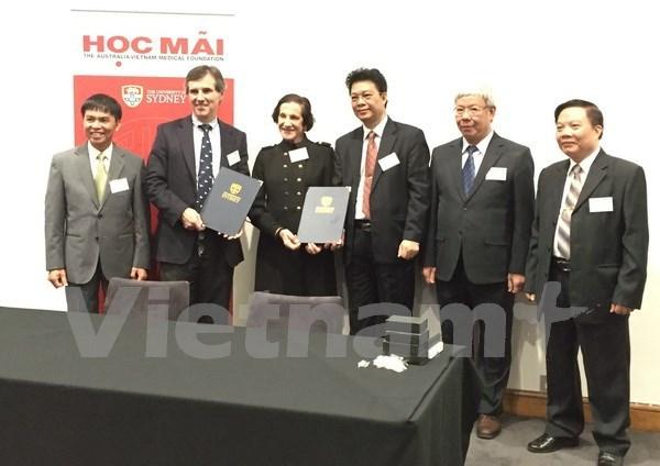 Asistencia australiana a Vietnam en formacion de medicos hinh anh 1