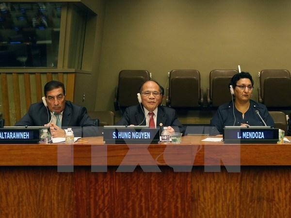 Sinh Hung copreside sesion de presidentes parlamentarios hinh anh 1