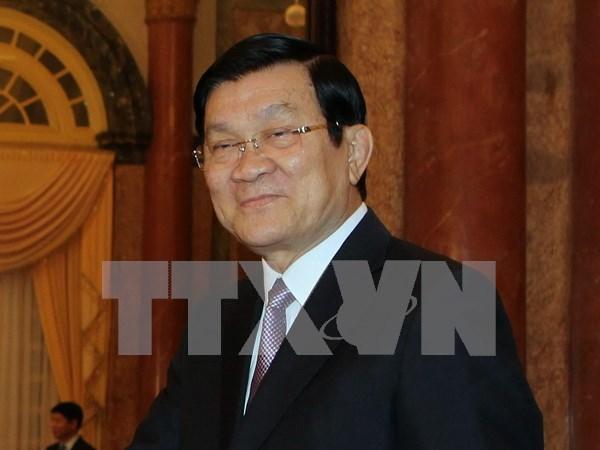 Presidente parte a China por ceremonia del triunfo sobre fascismo hinh anh 1