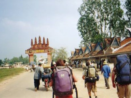 Cambodia investiga vandalismo contra marcadores fronterizos hinh anh 1