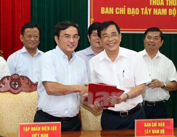 Impulsan desarrollo electrico en Region del Suroeste de Vietnam hinh anh 1
