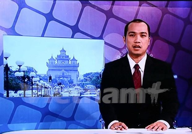 Television nacional de Laos emite noticiero en idioma vietnamita hinh anh 1