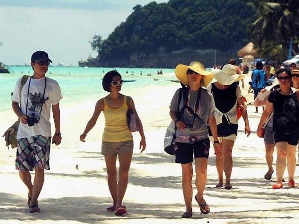 Turismo filipino registra alza en arribo de visitantes hinh anh 1