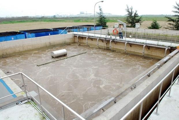 En servicio planta de tratamiento de aguas residuales en Bac Ninh hinh anh 1