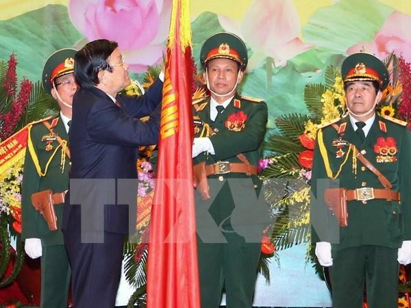 Reconocen aportes del Estado Mayor General con Orden de Merito Militar hinh anh 1