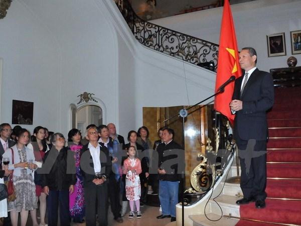 Siguen actividades conmemorativas del Dia nacional en exterior hinh anh 1