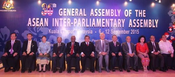 Inauguran 36 Asamblea Interparlamentaria de ASEAN en Malasia hinh anh 1