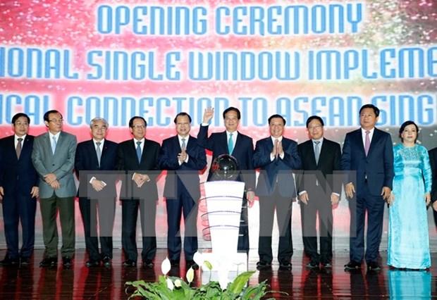 """Mecanismo """"ventanilla unica"""" vietnamita integrado a red de ASEAN hinh anh 1"""
