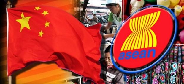 ASEAN y China impulsan cooperacion en comercio electronico hinh anh 1