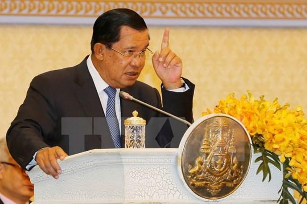 Premier cambodiano respalda detencion a senador Hong Sok Hour hinh anh 1