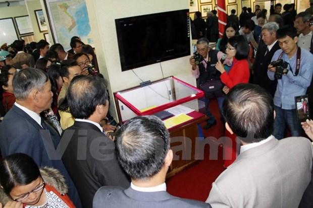 Exposicion Hoang Sa y Truong Sa en Lam Dong hinh anh 1