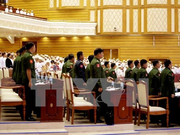 Comienza en Myanmar campana electoral hinh anh 1
