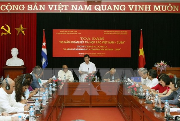 Respaldo de Vietnam: factor decisivo para exitos de Cuba hinh anh 1