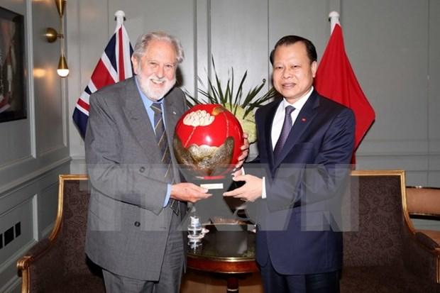 Vietnam desea impulsar cooperacion multifacetica con el Reino Unido hinh anh 1