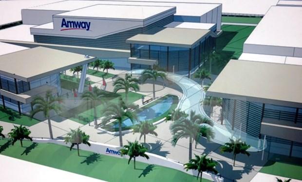 Amway Vietnam inaugura segunda planta en Binh Duong hinh anh 1