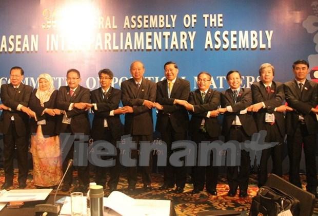 Presidente vietnamita destaca aportes de AIPA a Comunidad de ASEAN hinh anh 1