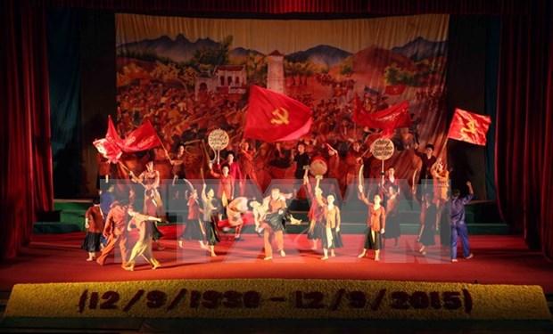 Rememoran momento historico de movimiento Xo Viet Nghe Tinh hinh anh 1