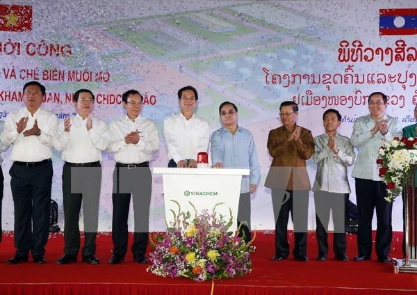 Vietnam inicia explotacion de minas de sal de potasio en Laos hinh anh 1