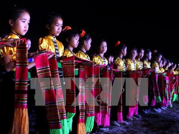 Danza de los Thai protagoniza semana cultural en Yen Bai hinh anh 1