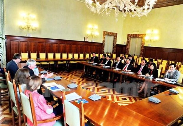 Comparten Vietnam e Italia experiencias en inspeccion gubernamental hinh anh 1