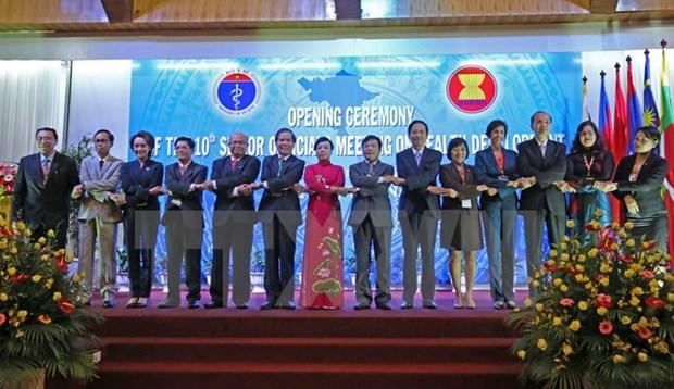 Reunion de funcionarios de ASEAN sobre desarrollo de salud hinh anh 1
