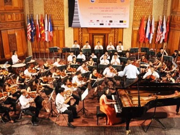 Vietnam brilla en competicion internacional de Piano Hanoi hinh anh 1