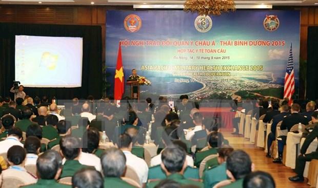 Medicos militares de Asia- Pacifico intercambian en Da Nang hinh anh 1