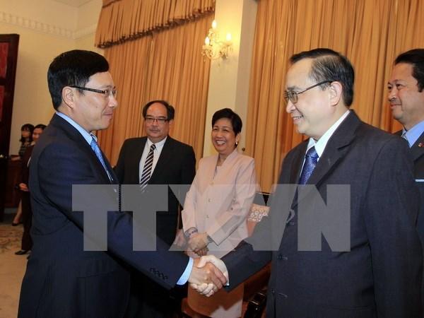 Determinados Vietnam y Filipinas aumentar intercambio comercial hinh anh 1