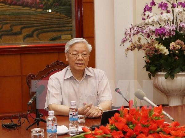 Secretario general del PCV parte a Japon hinh anh 1