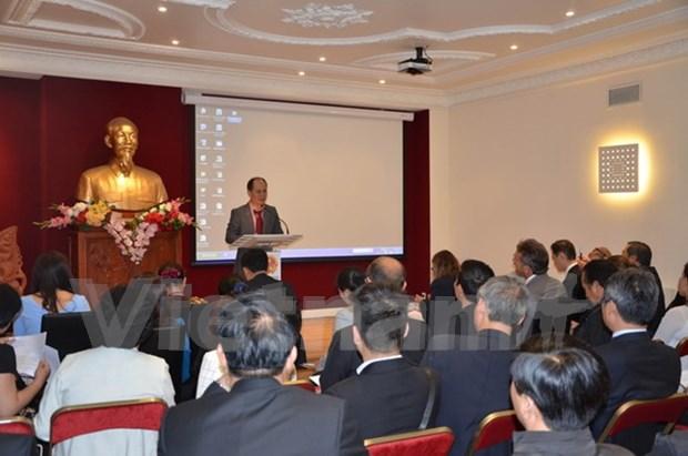 Impulsan actividades de empresas vietnamitas en Francia hinh anh 1