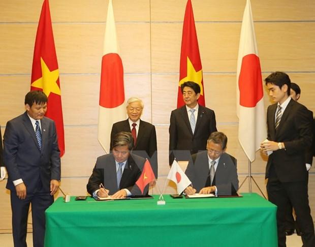 Vietnam y Japon vigorizan asociacion estrategica amplia hinh anh 1