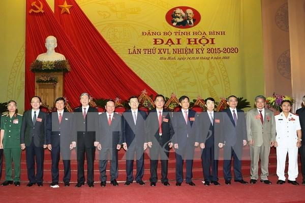 Efectuada asamblea partidista de Hoa Binh, primera a escala nacional hinh anh 1