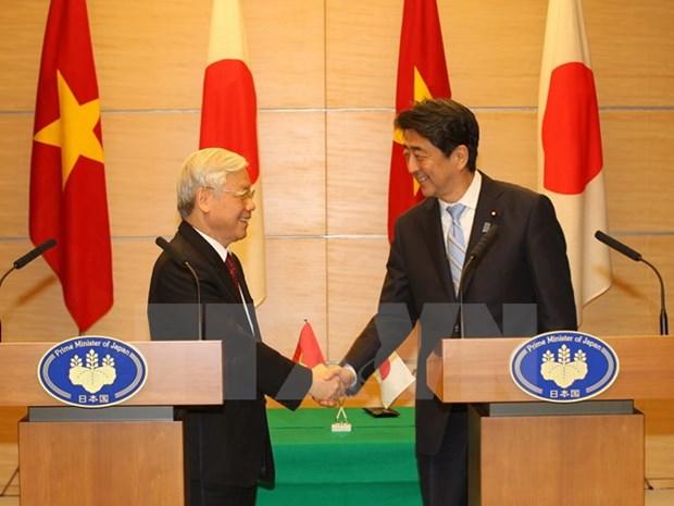 Prensa japonesa destaca nexos de cooperacion con Vietnam hinh anh 1
