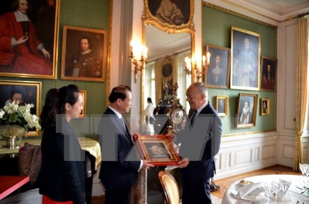 Vietnam, importante socio de Suiza en Asia-Pacifico hinh anh 1