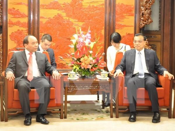 Vietnam considera importante asociacion integral con China hinh anh 1