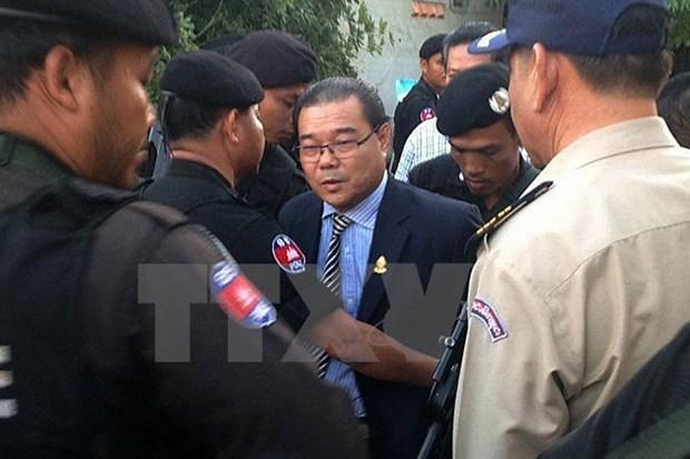Cambodia niega libertad bajo fianza de senador Hong Sok Hour hinh anh 1