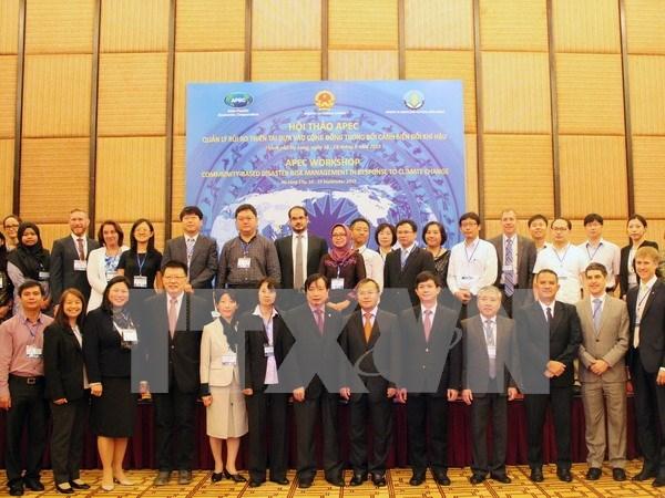 Efectuan en Vietnam conferencia de APEC sobre desastres naturales hinh anh 1