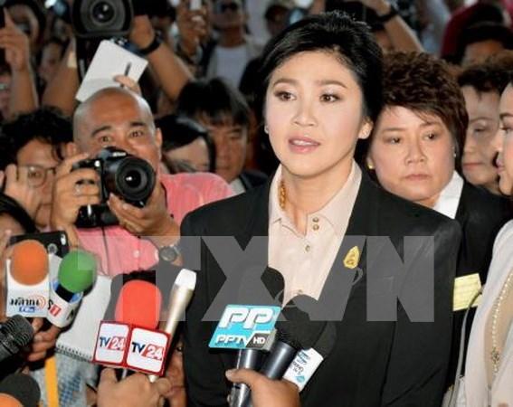 Yingluck tendra que indemnizar por programa de subsidio al arroz hinh anh 1