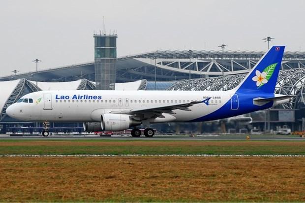 Laos y la India firman acuerdo sobre servicios aereos hinh anh 1